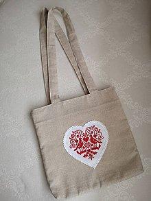 Veľké tašky - Taška s folklórnym motívom - 11047479_