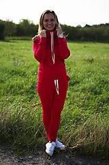 Nohavice - Tepláková súprava jednofarebná - 11047037_
