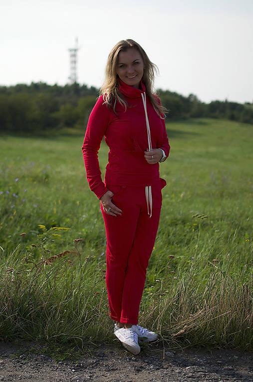 Nohavice - Tepláková súprava jednofarebná  - 11047035_