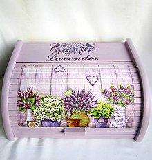 Nádoby - Chlebník - Lavender - 11053720_