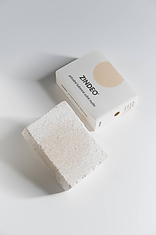 Drogéria - ZINDEO® soľné BAHENNÉ mydlo - 11053558_