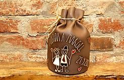 Dekorácie - Pokladnička pre novomanželov - 11053231_