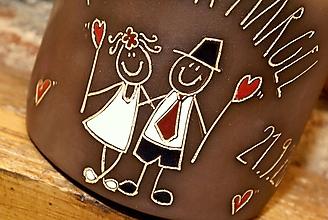 Dekorácie - Pokladnička pre novomanželov - 11053230_