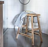Nábytok - stolička z dubového dreva - 11050258_