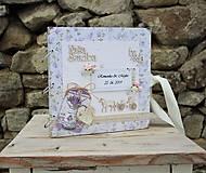 "Papiernictvo - ""Provence"" svadobný fotoalbum - 11053452_"