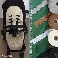 Textil - Joolz HUB Seat Liner / Podložka do kočíka zelené ihličie na mieru GREENER - 11050740_