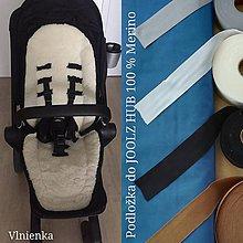 Textil - Joolz HUB Seat Liner / Podložka do KOČÍKA kráľovská modrá na mieru ROYAL BLUE - 11050906_