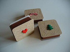 Krabičky - vianočná krabička - 11051662_