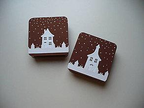 Krabičky - krabička zimná - 11053048_