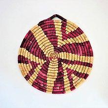 Dekorácie - Africký závesný kruh na stenu - 11050058_