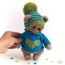 """Hračky - medvedík """"Leo"""" - 11049755_"""