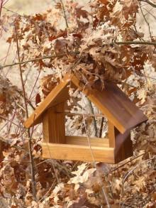 Pre zvieratká - Vtáčie krmítko / kŕmidlo pre vtáčiky ORECH - 11053638_