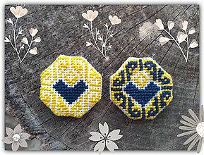 Náušnice - Náušničky Láska k severu - 11051788_