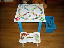 Detské doplnky - Hrací stolík so stolčekmi - 11051838_