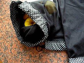 Úžitkový textil - Vrecúška, pytlíky - sada 4 ks - 11052557_