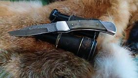 Nože - Damaskový vreckový nôž - 11051078_