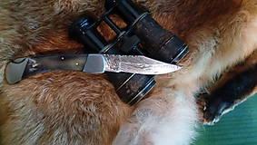 Nože - Damaskový vreckový nôž - 11051085_