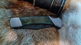 Nože - Damaskový vreckový nôž - 11051106_