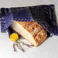 Úžitkový textil - Voskový obrúsok - Modrotlač - 11051546_