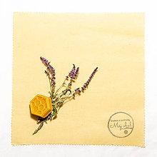 Úžitkový textil - Voskový obrúsok - Bavlna - 11051673_