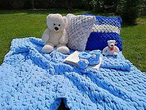 Textil - Handmade puffy deka - 11051816_