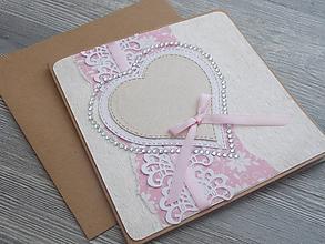 Papiernictvo - ...pohľadnica svadobná... - 11053634_