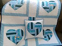 Textil - srdiečkový set - 11050289_