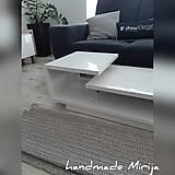 Úžitkový textil - Hačkovaný koberec - 11057757_