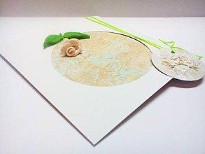 Papiernictvo - Pohľadnica ... ružička - 11057337_