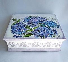 Krabičky - Šperkovnica - Hortenzia - 11055434_