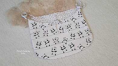 Textil - Plienkovník - vreckár na postieľku - 11055672_