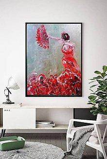 Obrazy - Flamenco dancer - 11057638_