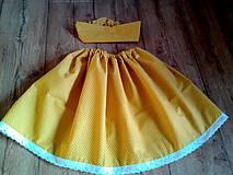 Detské oblečenie - Jesenná detská suknička - 11057921_