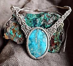 Iné šperky - ~ Nebeský Larimar ~ - 11056604_