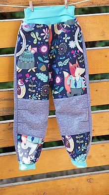 Detské oblečenie - Riflové  softshellové nohavice - 11056291_