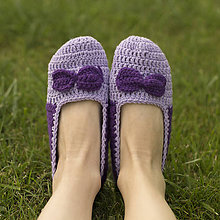 Obuv - Papučky - fialové (č.38-39) - 11057682_