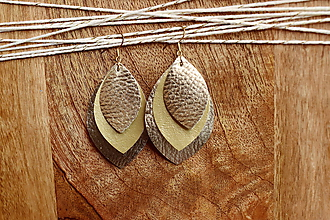 Náušnice - Náušnice Nova- golden - 11057746_
