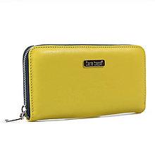 Peňaženky - Wally Přírodní kůže no.10 - 11055262_