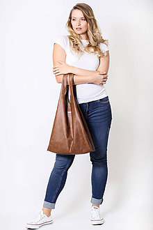 Nákupné tašky - Tote Přírodní kůže no.1 - 11055400_