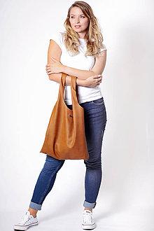 Nákupné tašky - Tote Přírodní kůže no.2 - 11055441_