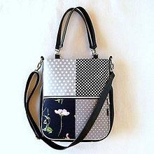 Veľké tašky - Taste it! - S kvetom a bodkami - 11055554_