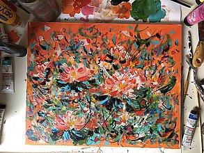 Obrazy - Kvety - 11055483_