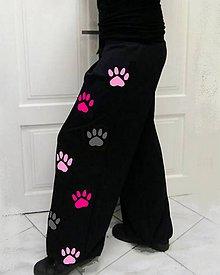 Nohavice - Taneční tepláky , no.9 pink - 11057899_