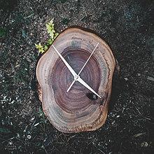 Hodiny - RAW 4 - Teakové drevené hodiny - 11053804_