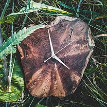 Hodiny - RAW 7 - Akáciové drevené hodiny - 11053806_