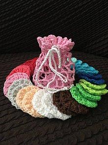Úžitkový textil - Kozmetické odličovacie tampóniky - 11057210_