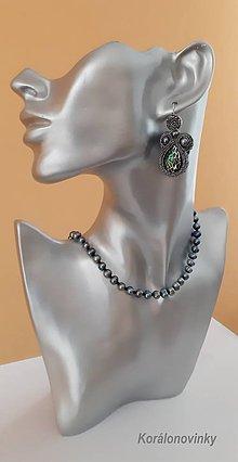 Náhrdelníky - Náhrdelník z pravých riečných perál. - 11053841_