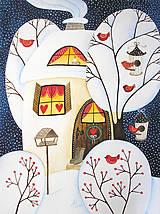 Kresby - Zimný - na želanie - 11056309_