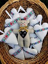 Darčeky pre svadobčanov - Svadobný folklórny macko:) - 11054208_