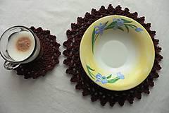 Úžitkový textil - Handmade háčkované prestieranie - 11056950_